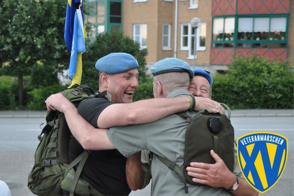 Foto veteranmarschen