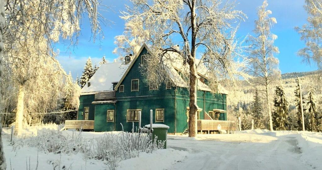 Skolhuset i Branäs