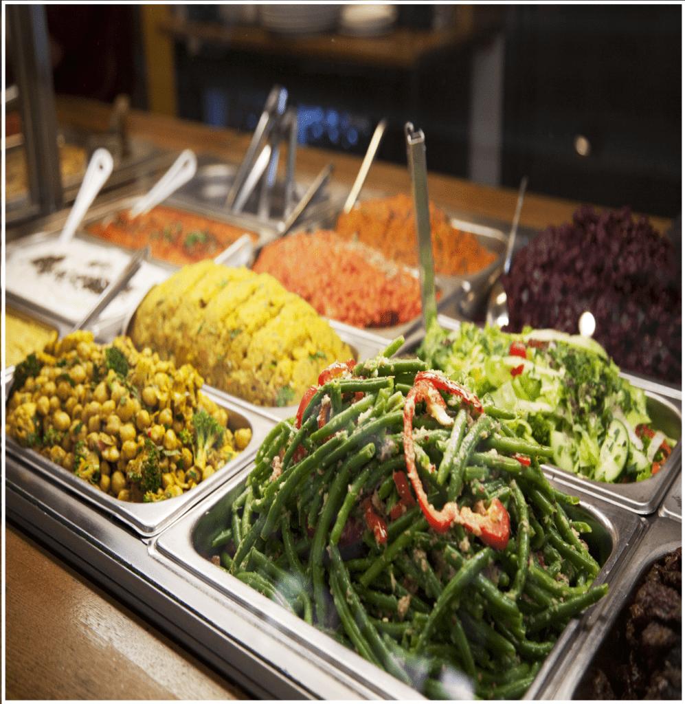 Légumes – vegetariskt matcafé