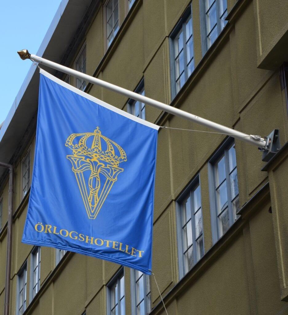 Flagga Drottning Victorias Örlogshotell